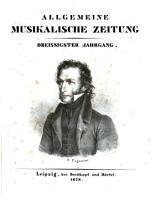 Allgemeine musikalische Zeitung PDF