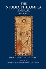 The Studia Philonica Annual XXX, 2018