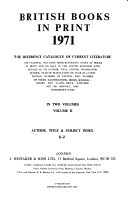 British Books in Print PDF