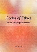 Codes of Ethics for the Helping Professions Book
