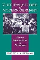 Cultural Studies of Modern Germany PDF