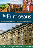 The Europeans  Second Edition PDF