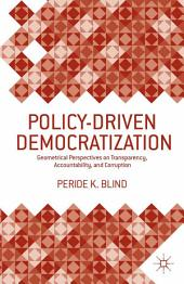Policy-Driven Democratization: Geometrical Perspectives on Transparency, Accountability, and Corruption