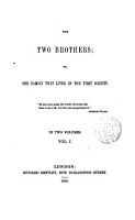 The two brothers  or  The family that lived in the first society  by M  Raven  Transl    PDF