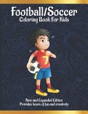 Football/Soccer Coloring Book for Kids