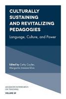 Culturally Sustaining and Revitalizing Pedagogies PDF