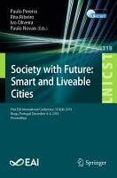 Society with Future  Smart and Liveable Cities PDF