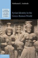 Syrian Identity in the Greco Roman World PDF