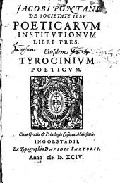 Poeticarum institutionum libri tres