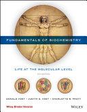 Fundamentals of Biochemistry  5e Binder Ready Version   WileyPLUS Learning Space Registration Card