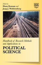 Handbook of Research Methods and Applications in Political Science