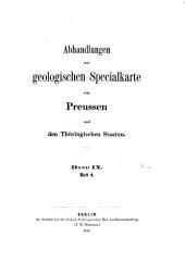 Die Tertiär- und Diluvial-Bildungen des Untermainthales: der Wetterau und des Südabhandges des Tannus, Band 9