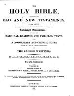 The Holy Bible: Deuteronomy, Joshua, Judges, Ruth, and I+II Samuel