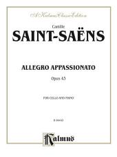 Allegro Appassionato, Opus 43: For Cello and Piano