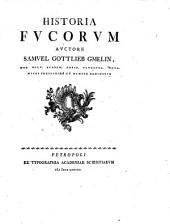 Historia fucorum. Cum tab. aen