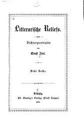 Litterarische Reliefs: Bände 1-2