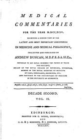 Medical and Philosophical Commentaries: Volume 19