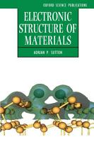 Electronic Structure of Materials PDF