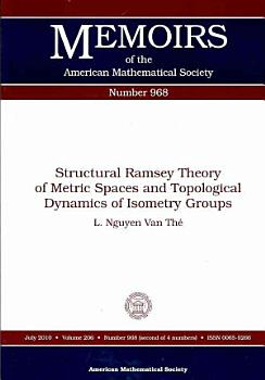 Structural Ramsey Theory of Metric Spaces and Topological Dynamics of Isometry Groups PDF