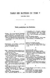 Bulletins et mémoires de la Société Médicale des Hôpitaux de Paris: Volume 5