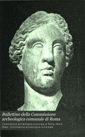 Bullettino della Commissione archeologica comunale di Roma: Volume 32