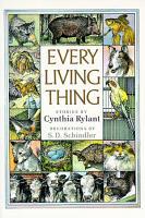 Every Living Thing PDF