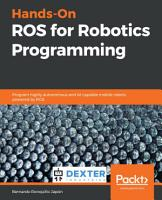 Hands On ROS for Robotics Programming PDF