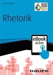 Rhetorik eBook active