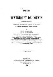 Dits de Watriquet de Couvin