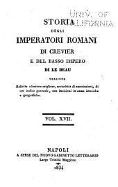Storia degli imperatori Romani: Volumi 17-18