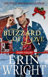Blizzard of Love: A Western Holiday Romance Novella (Sweet Christmas Cowboy Love Story)