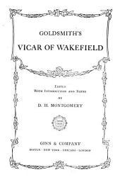 Goldsmith's Vicar of Wakefield