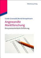 Angewandte Marktforschung PDF
