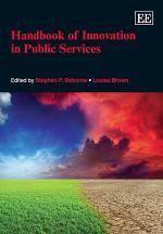 Handbook of Innovation in Public Services