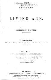 Littell's Living Age: Volume 23