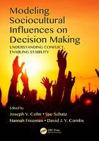 Modeling Sociocultural Influences on Decision Making PDF