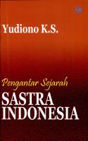 Pengantar sejarah sastra Indonesia PDF