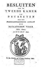 Besluiten van de Tweede Kamer en decreeten van het Vertegenwoordigend Lichaam des Bataafschen Volks: Volume 33