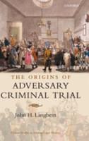 The Origins of Adversary Criminal Trial PDF