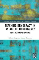 Teaching Democracy in an Age of Uncertainty PDF