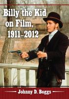 Billy the Kid on Film  1911   2012 PDF