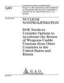Gao 05 57 Nuclear Nonproliferation PDF