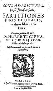Partitiones iuris feudalis