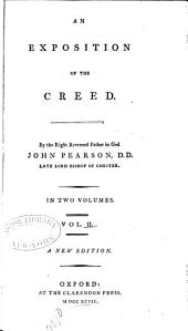 An Exposition of the Creed: Volume 2