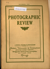 Photographic Review: A Journal Devoted to Photography, Volume 24, Issue 11