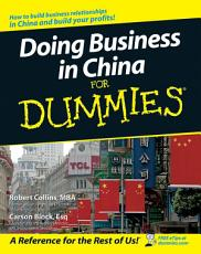 Doing Business in China For Dummies PDF
