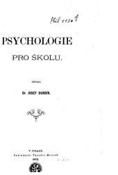 Psychologie pro školu