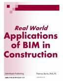 Real World Applications of BIM in Construction PDF