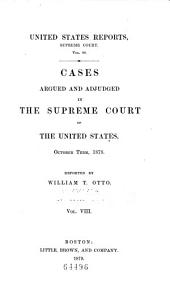 United States Reports: Cases Adjudged in the Supreme Court, Volume 98
