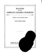 Bulletin of the American College of Surgeons: Volume 4, Issue 2